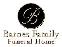 Barnes Family Funeral Home - Home-Owned Slider Logo